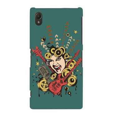 Snooky Digital Print Hard Back Cover For Sony Xperia Z2  Td11810