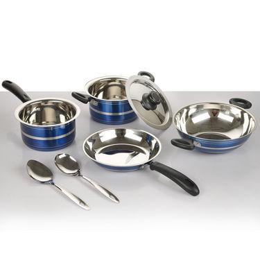 7 Pcs HTR Coated Cookware