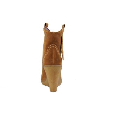 Delize Suede Leather Boot 8036-Tan