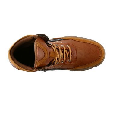 Bacca bucci Genuine Leather Boots 8400 - Tan