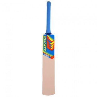 Mayor Natural Color Popular Willow Tennis Bat - 2