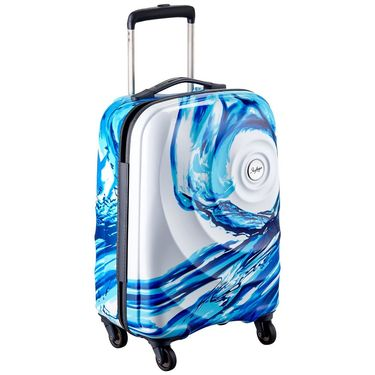 Skybags Riviera Polycarbonate 360 Strolley Bag 65-White