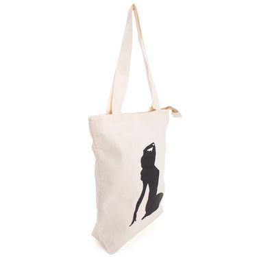 Arisha Cotton Khadi Handbag AE40k -Cream