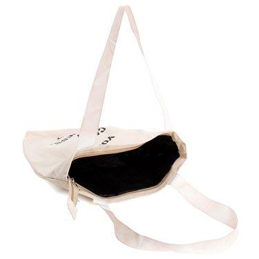 Arisha Cotton Khadi Handbag AE40u -Cream