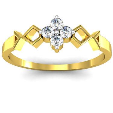 Ag Real Diamond Katrina Ring_AG0014y