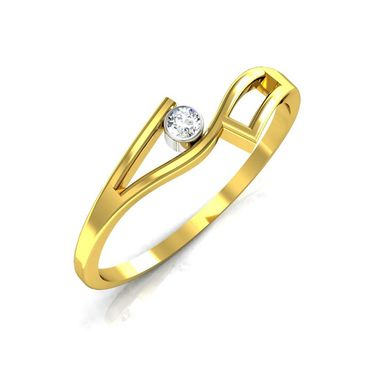 Ag Real Diamond Ranchi Ring_AG0065y