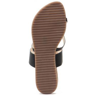 Aleta Synthetic Leather Womens Flats Alwf1216-Black
