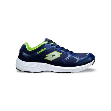 Lotto Navy & Lime Sports Shoes -AR2564