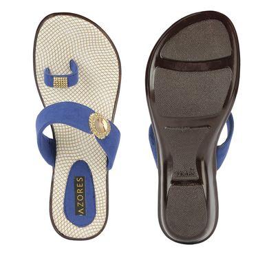 Azores Womens Black Sandals -Azf_9B