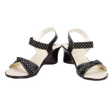 Azores Womens Black Sandals -Azf_Pdb