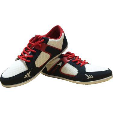 Mayor  Amaze Navy, White & Red Shoes - 7