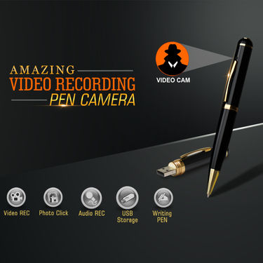 Amazing Video Recording Pen Camera