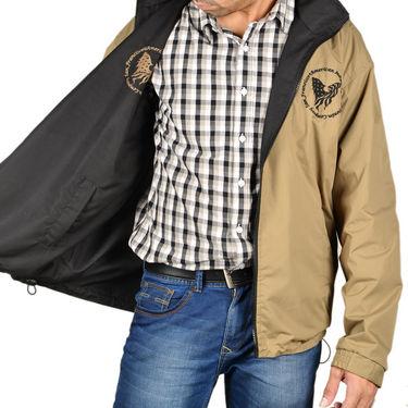 American Indigo Reversible Jacket + Neon Shoes