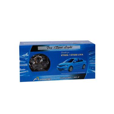 Set of 2 Pcs Annexe Fog Light Lamp For Toyota Etios Liva