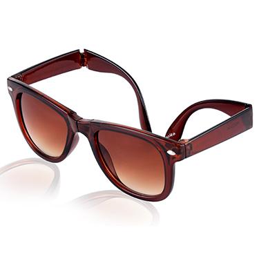 Aoito Wayfarer Sunglasses - Brown_AO-20BRMOW40