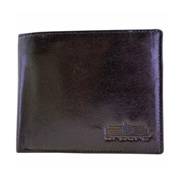 Arpera Genuine Leather Wallet For Men - Black_C11439-1
