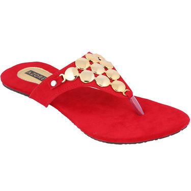 Azores Womens Red Sandals -Azf_2R