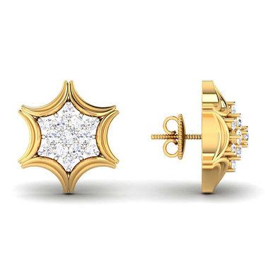 Kiara Swarovski Signity Sterling Silver Pournima Earring_B406 - Silver