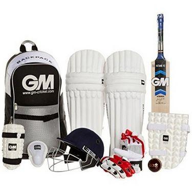 GM Cricket Set  Jr. Complete Kit With Helmet - 5