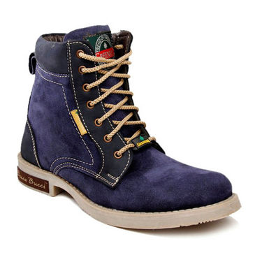 Bacca bucci Green Hill High Ankle Length Boots - Blue
