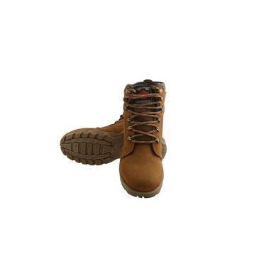 Bacca bucci Leather  Boot Bb026 _Tan