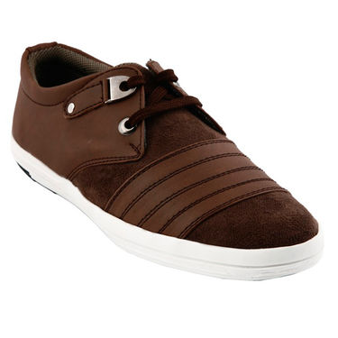 Bacca Bucci PU & suede  Casual Shoes  Bbmb3081C -Brown