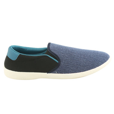 Bacca Bucci Canvas  Blue Casual Shoes -ntb16