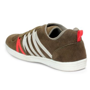 Bacca Bucci PU Olive Casual Shoes -Bbmb3153G