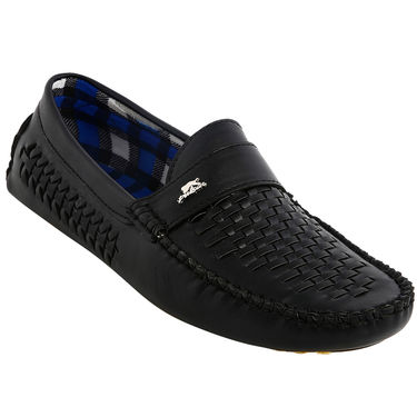 Bacca bucci Synthetic Leather  Loafers  Bb002 _Black