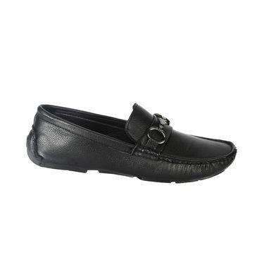 Bacca Bucci PU Black  Loafers -Bbmc4043A