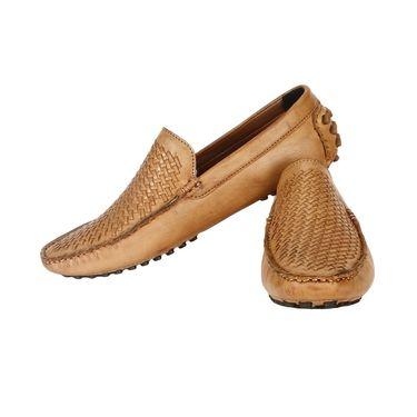 Bacca Bucci PU Tan Loafers -Bbmc4047D