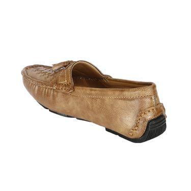 Bacca Bucci PU Beige Loafers -Bbmc4048E