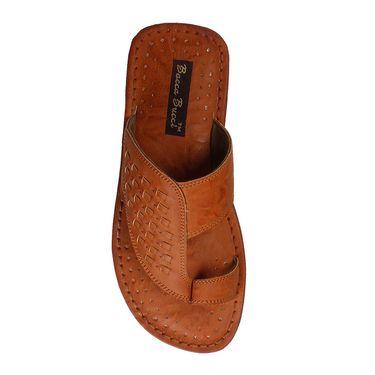 Bacca Bucci PU Brown Slippers -Bbmd5040C