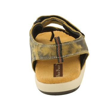 Bacca Bucci Genuine Leather Tan  Sandals -Bbme6024D