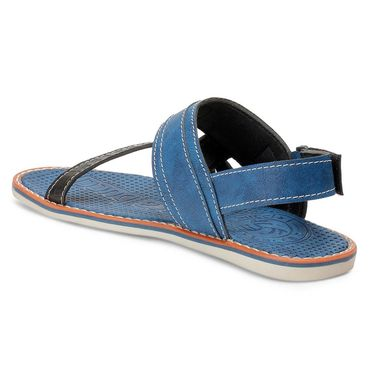 Bacca Bucci Artificial Leather Blue Sandals -Bbme6053B