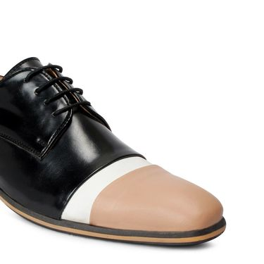Bacca Bucci Leather Black Formal Shoes -Bbmf7027A