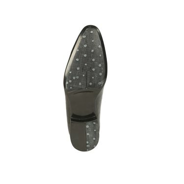 Bacca bucci Synthetic Leather  Formal Shoes Bb015 _Black