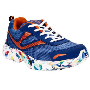 Bacca Bucci PU & Mesh  Sport Shoe  Bbmg8104K -Multicolor