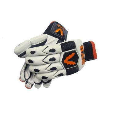BAS Vampire  (Size-L) Legend Batting Glove-Black And White - BG57