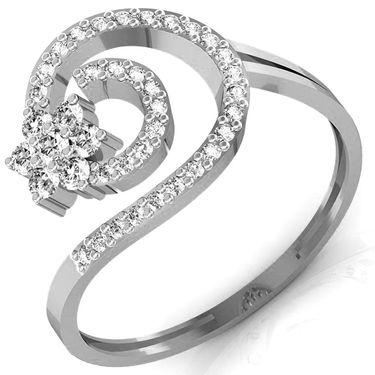 Avsar Real Gold & Swarovski Stone Arundhati Ring_B045wb