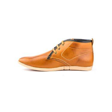 Kohinoor Footwears Synthetic Leather Casual Shoes BT090_Tan