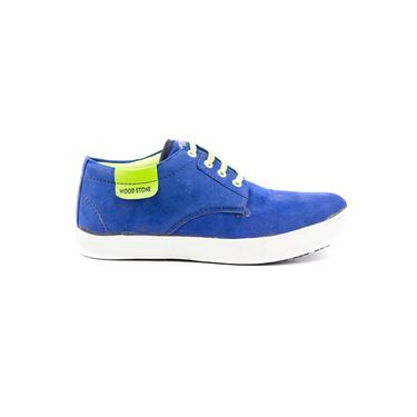 Kohinoor Footwears Fabric Casual Shoes BT094_Blue