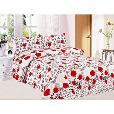 Carah exclusive Double bedsheet with Two pillow covers-CRH-DB165