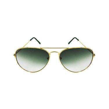 Unisex Aviator Sunglasses_Bes009 - Green