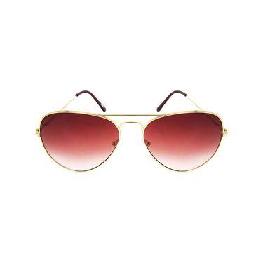Unisex Aviator Sunglasses_Bes014 - Red