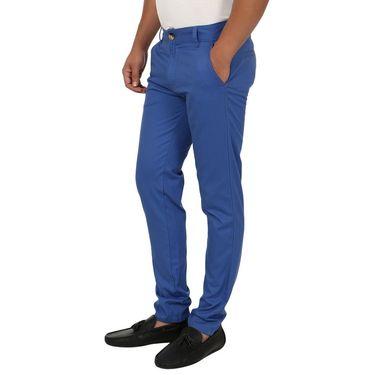 Blimey Slim Fit Cotton Chinos_Bf01 - Royal Blue