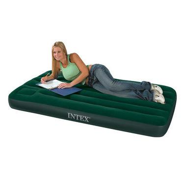 Combo of Intex Air Mattress + Pump + Free 2 Pillows