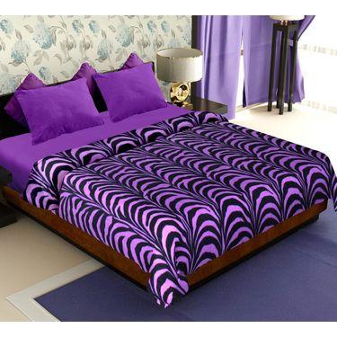 Storyathome Set of 2 Designer Printe Double Fleece Blanket-CA1202-CA1207