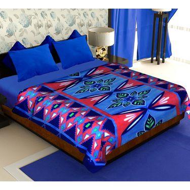 Storyathome Pack of 2 Designer Printed Double Fleece Blanket-CA1210-CA1211