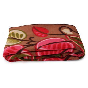 Storyathome Pack of 2 Designer Printed Double Fleece Blanket-CA1214-CA1208